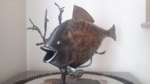 Sculpture de JORG: poisson