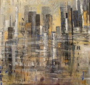 Peinture de VERONIKA L: NEW YORK 5