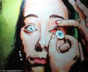 Voir cette oeuvre de Fabrice MARTIN: One-eyed girl