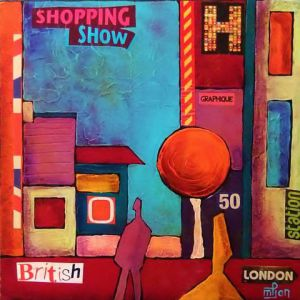 Oeuvre de Marie-Pierre JAN: Shopping in london