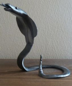 Sculpture de JORG: serpent