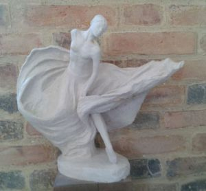 Sculpture de Senga: Flamenco