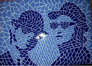 Mosaique de CHRISMOSAIC: BLUES BROTHERS