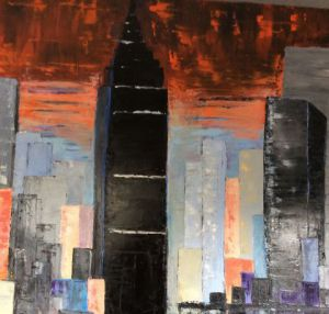 Voir cette oeuvre de MARIE-THERESE VION: Empire State Building New York