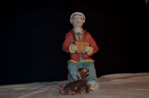 Sculpture de Mireille ULLA: Clown