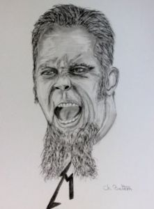 Dessin de CBETTON: James HETFIELD