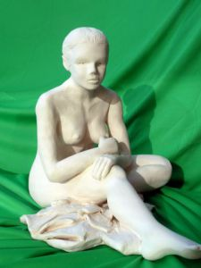 Sculpture de Jocelyne LEHOURRY: Natacha