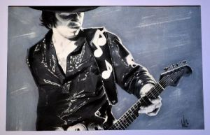 Voir cette oeuvre de wilfried forgues : Stevie Ray vaughan