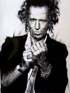 Voir cette oeuvre de wilfried forgues : Keith Richards