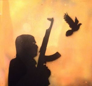 Peinture de Degun: Freedom Fighter