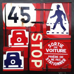Sculpture de COSTA: 45 STOP