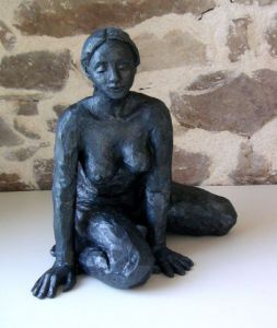 Sculpture de Meryl QUIGUER: Blue-star