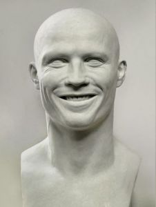 Sculpture de Laurent mc sculpteur portrait: portrait 4