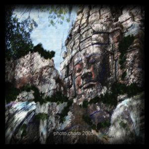 Photo de chara: Temple d' Angkor -Statue - Mixte peinture 3D