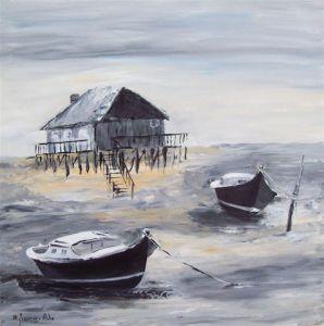Peinture bateau sur livegalerie - Peinture chambre jeune homme ...