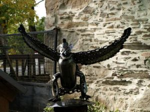 Sculpture de ritch: condor