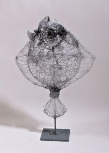 Sculpture de Breval: turbot