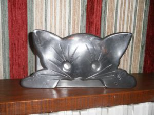 Sculpture de Mareschal Christophe: chat