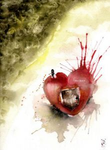 Peinture de Dessine-moi un reve: Open up your heart let me in