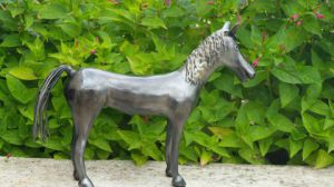 Sculpture de JORG: Cheval de fer