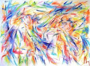 Peinture Personnage Sur Livegalerie