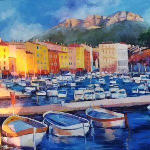 Peinture de Veronique LANCIEN: GRAND CASSIS
