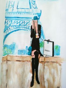 Peinture de Arsene Gully: Paris Gucci