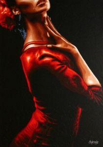 Peinture Flamenco Sur Livegalerie