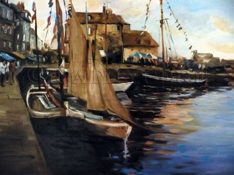 Cathy Cere - Honfleur