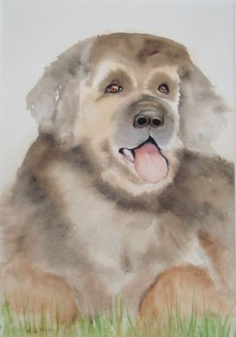 MARYSE WENGER - le chien