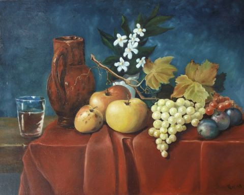 Yves Pereira - Nature morte n°16