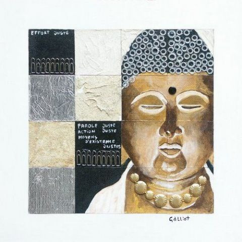 Michel Galliot - Bouddha effort juste