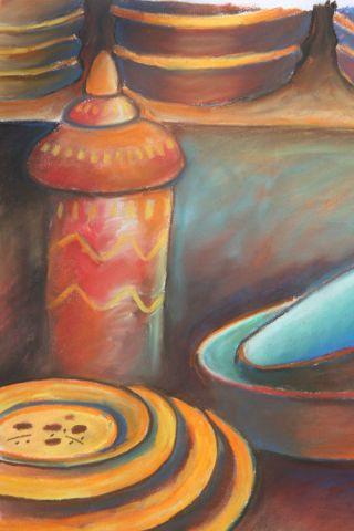Cuisine orientale dessin d le marechal for Cuisine orientale