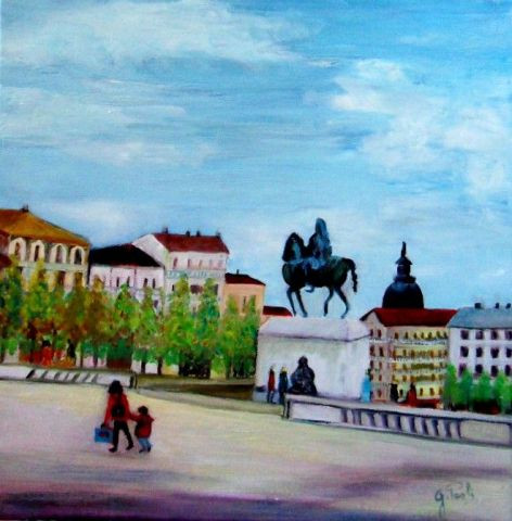 Paoli - LYON : Place Bellecour