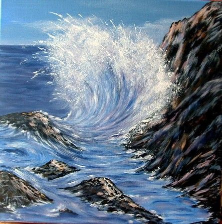 Catherine Thivrier-Forestier - La vague