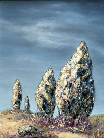 Catherine Thivrier-Forestier - Menhirs