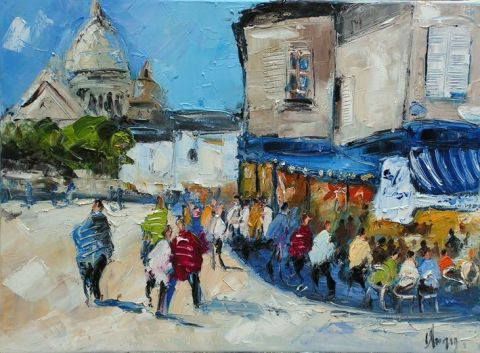 Dominique Kleiner - place du tertre