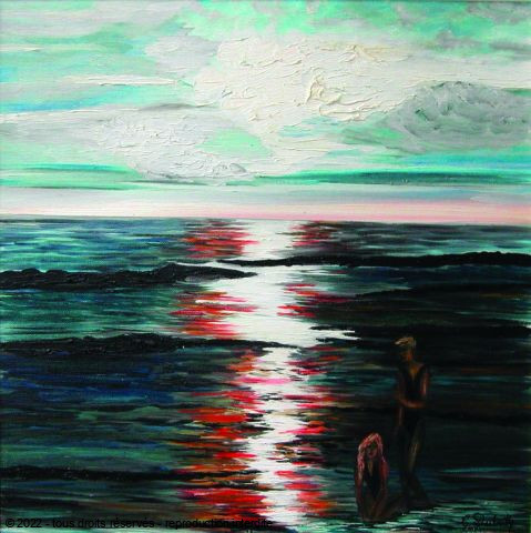 L'artiste Catherine Dutailly - Nocturne