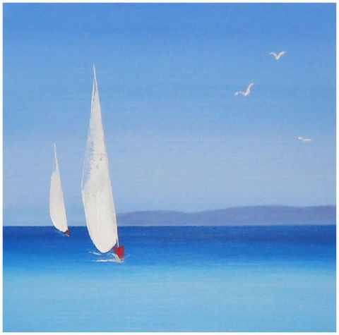 Dany MARIE - Voiles Blanches