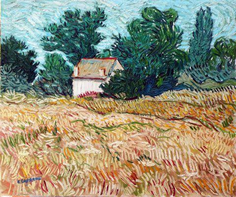 Résultat d'images pour champs de blé en ete
