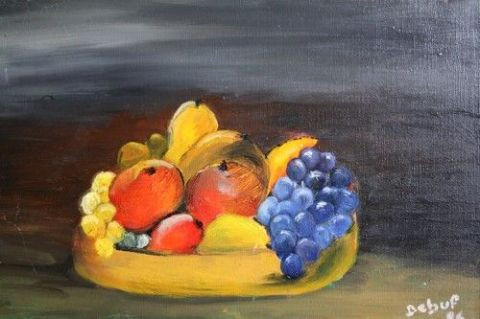 DEBUF - Nature Morte aux Fruits