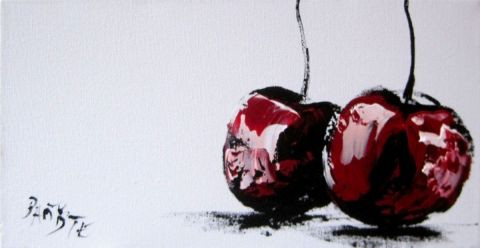 Cerise peinture baptyste - Peinture rouge cerise ...