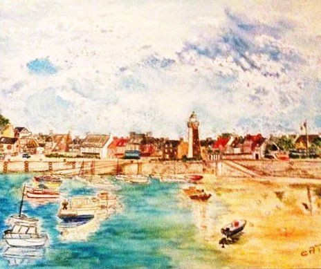 Catherine James - Roscoff le port