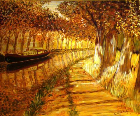 Catherine James - La Robine en automne