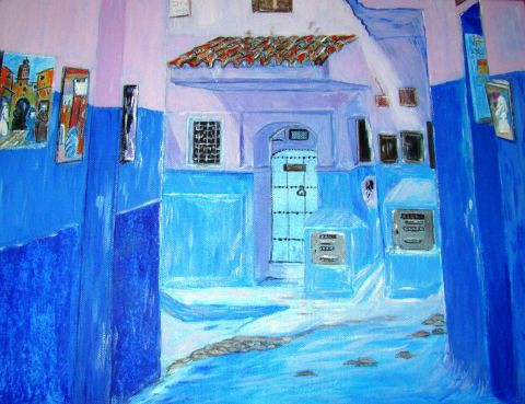 Catherine James - Chefchaouen