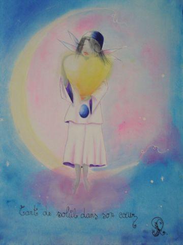 Tant de soleil dans son coeur peinture rosyline3 for Dans nos coeurs 35