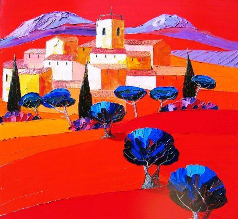 Provence Fauve Peinture Julie Pioch