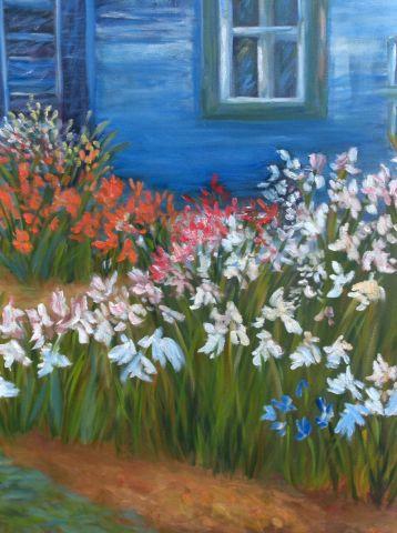 Jardin d 39 iris peinture desgagne for Aubade jardin d iris