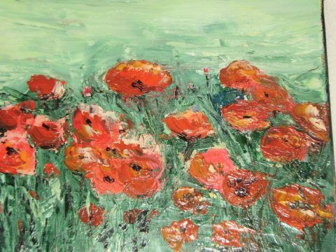 MARIE-THERESE VION - coquelicots en libert�