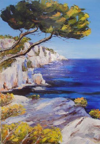 pin tableau peinture mer - photo #19